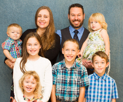 Pastor Scott LaPierre, author of Marriage God's Way, with his family