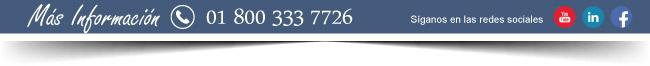 Barra de información, 01.800.333.7726