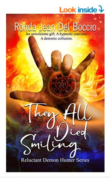 They All Died Smiling is available everywhere in print, ebook, or Audible audiobook