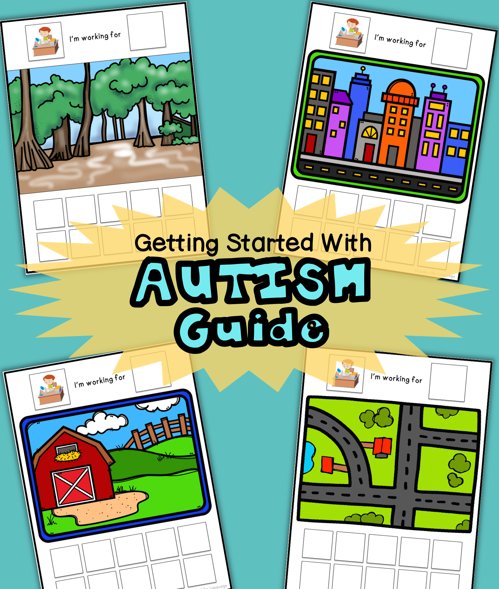 FREE Getting Started with Autism Guide from Looks Like Language