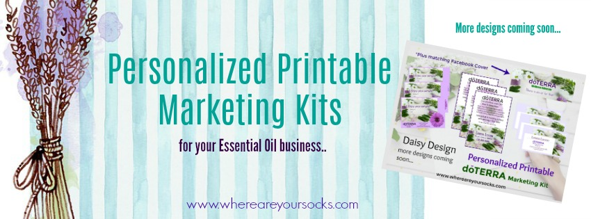 personalized printable marketing kits