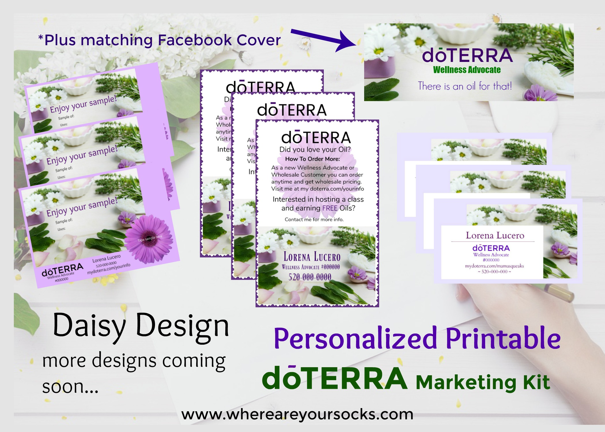 personalized printable marketing kit