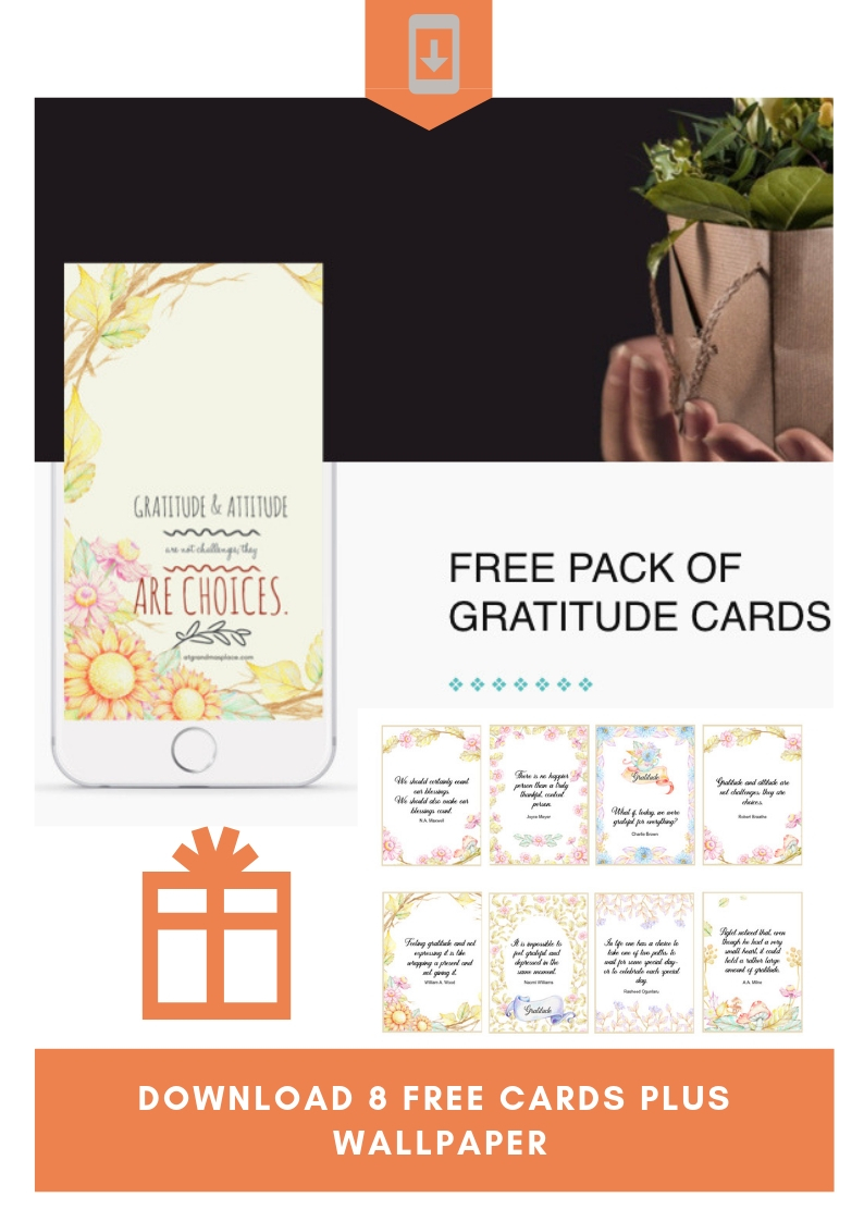 Free Gratitude Cards And Iphone Wallpaper