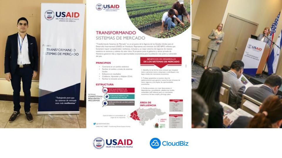 CEO de CloudBiz apoya proyecto de USAID