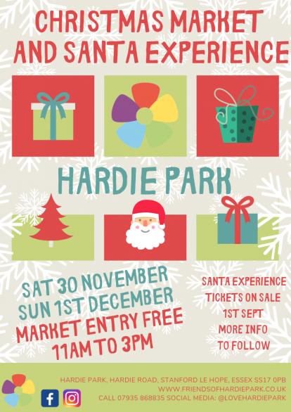 https://www.friendsofhardiepark.co.uk/event/christmas-market…santa-experience/