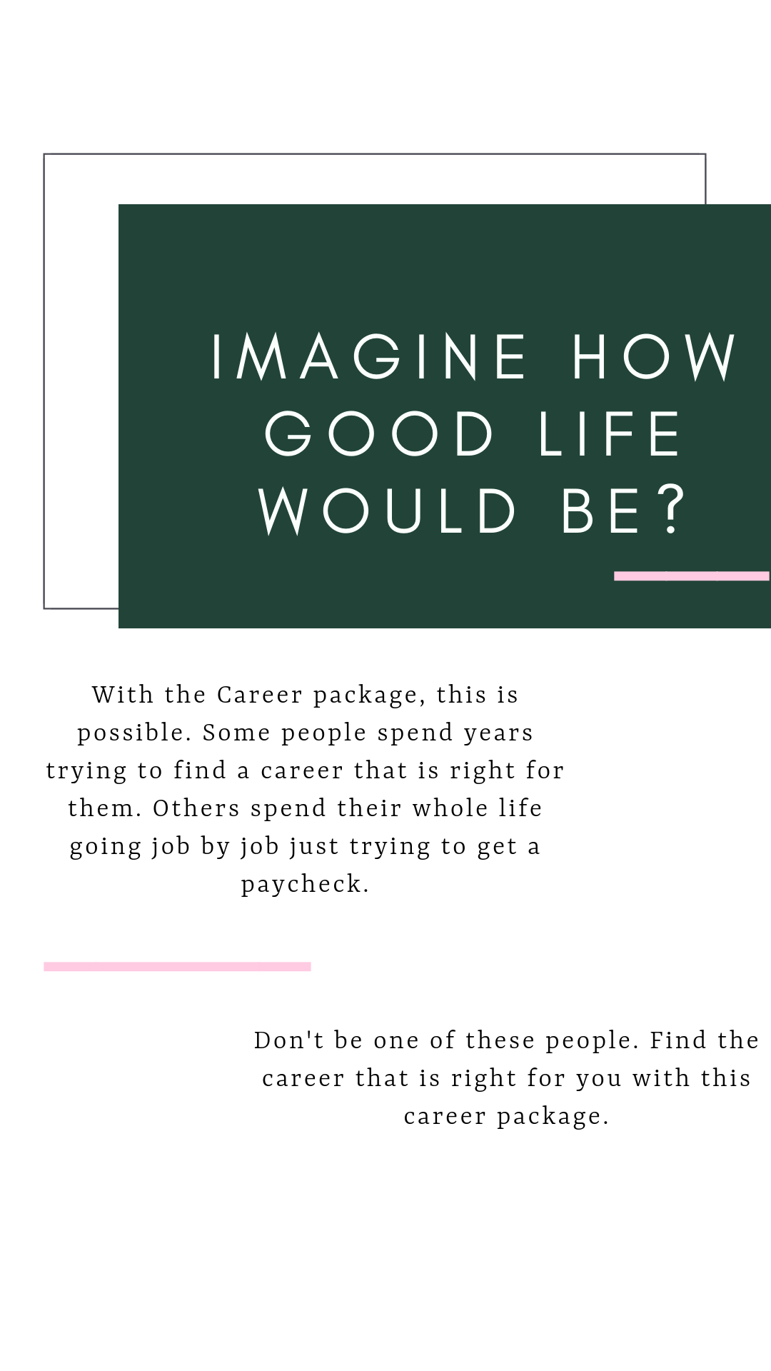what can i do for a new career
