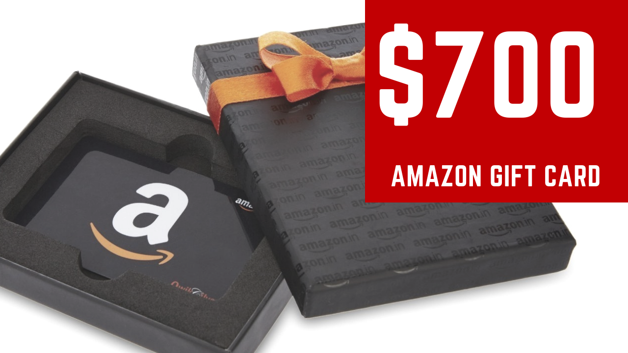 Amazon gift card picture front and back
