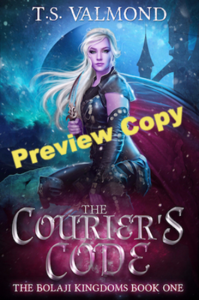 The Courier's Code preview book cover image