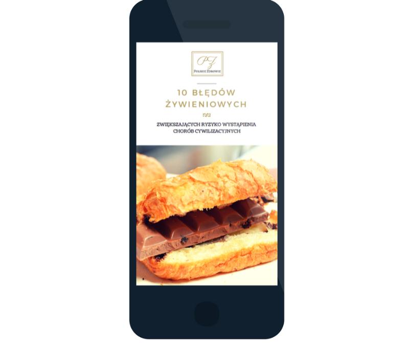 Darmowy ebook - 10 błędów żywieniowych