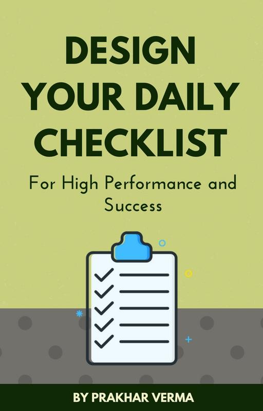Daily Success Checklist |