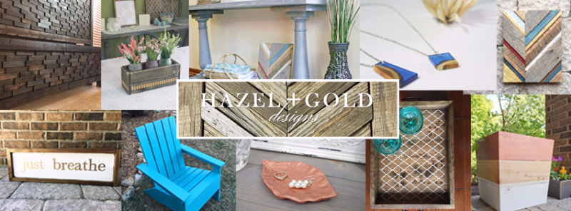 hazel + gold designs DIY projects, woodworking, crafting