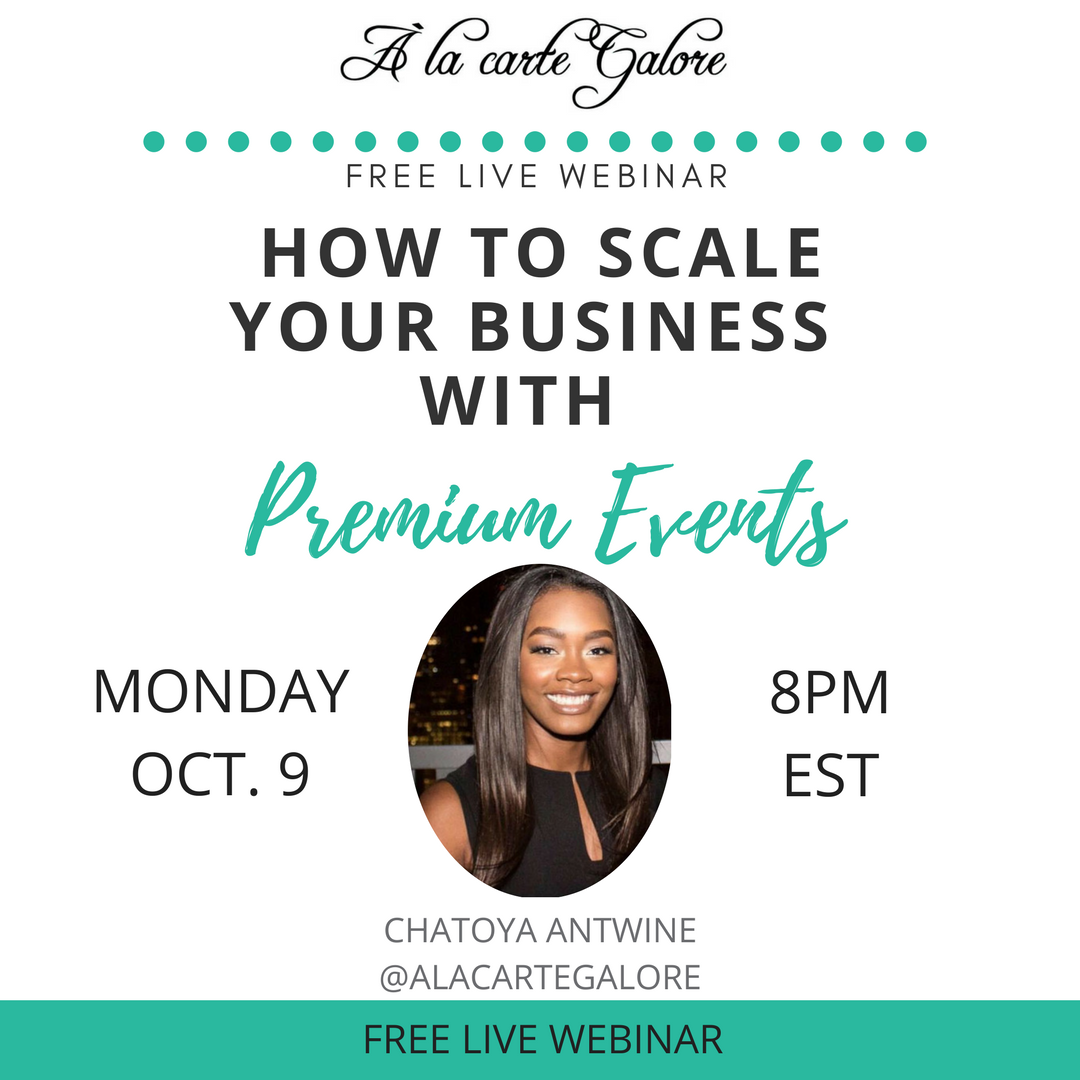 How to Scale Your Business with Premium Events