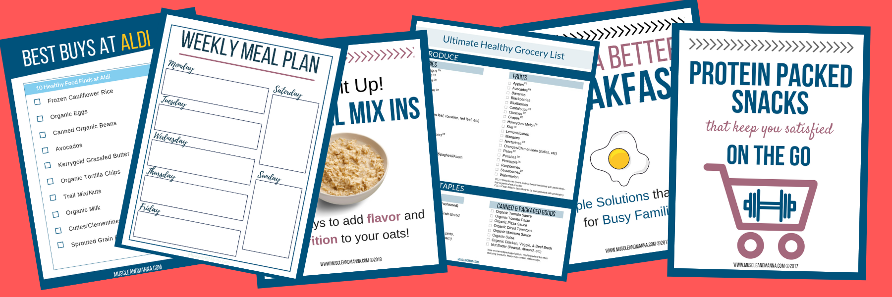 Ultimate Healthy Eating Grocery List {FREE PRINTABLE
