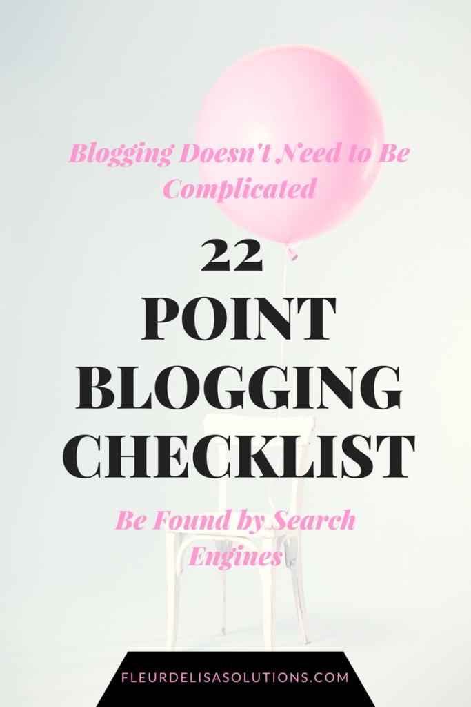 Blogging Success Guide