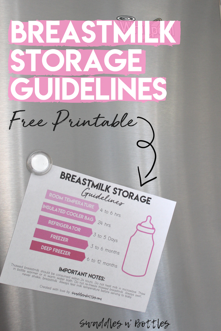 How To Properly Collect, Store And Thaw Pumped Breastmilk -1213