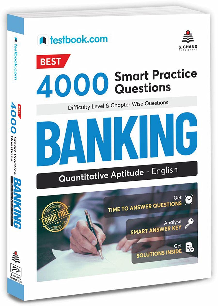 Best 4000 Smart Questions for Banking - Quantitative Aptitude