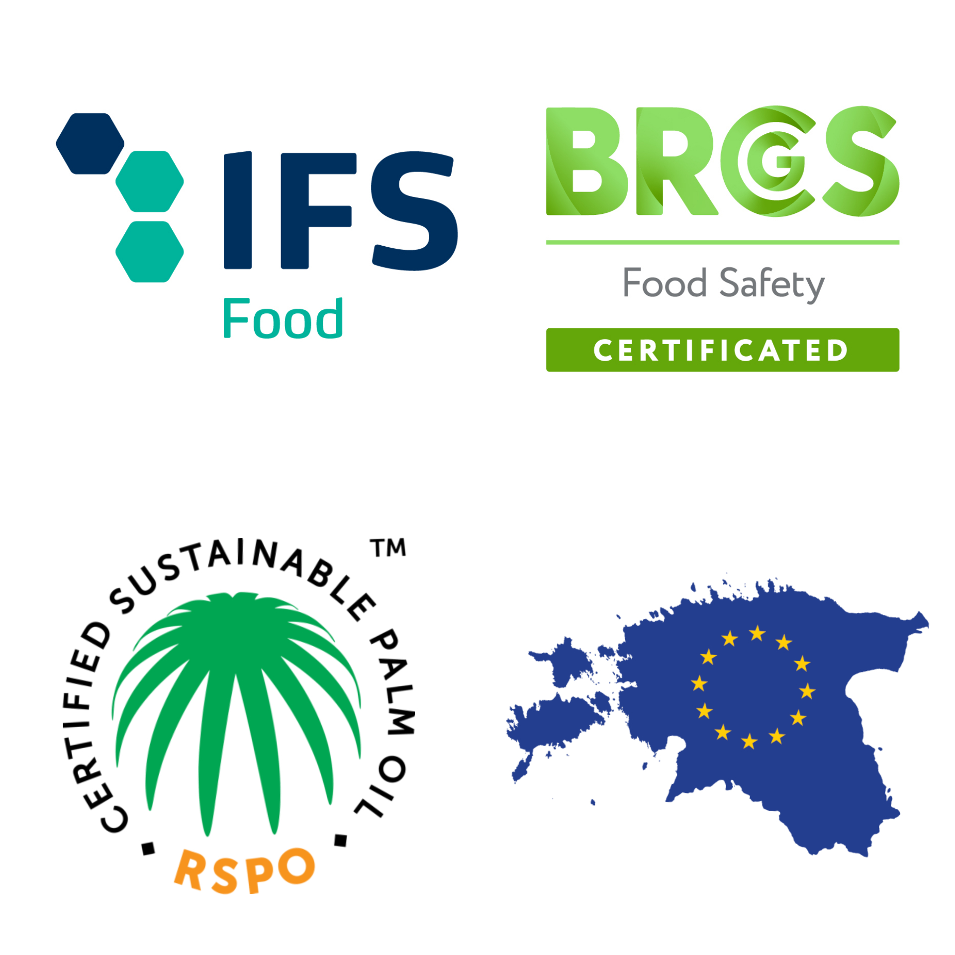 IFS and BRC logos