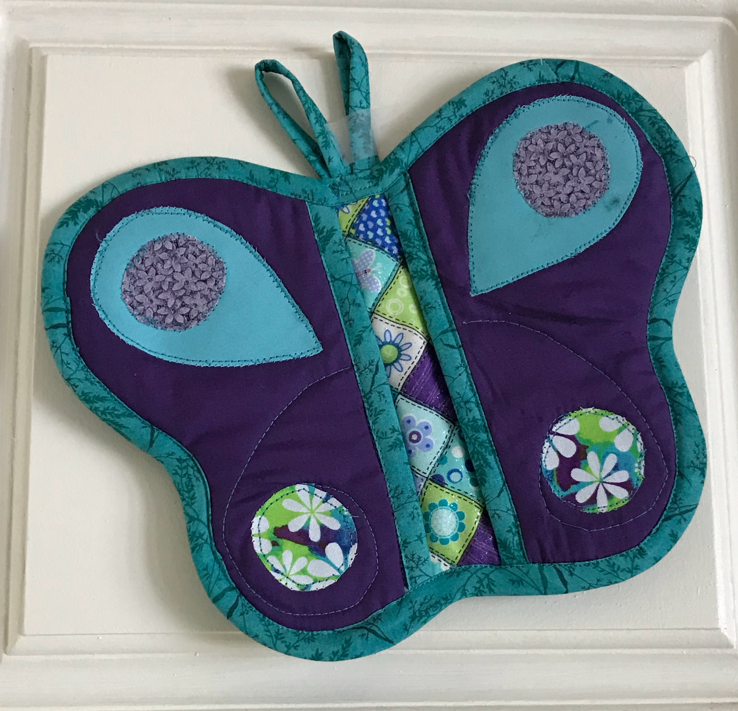Butterfly Potholder with pockets!