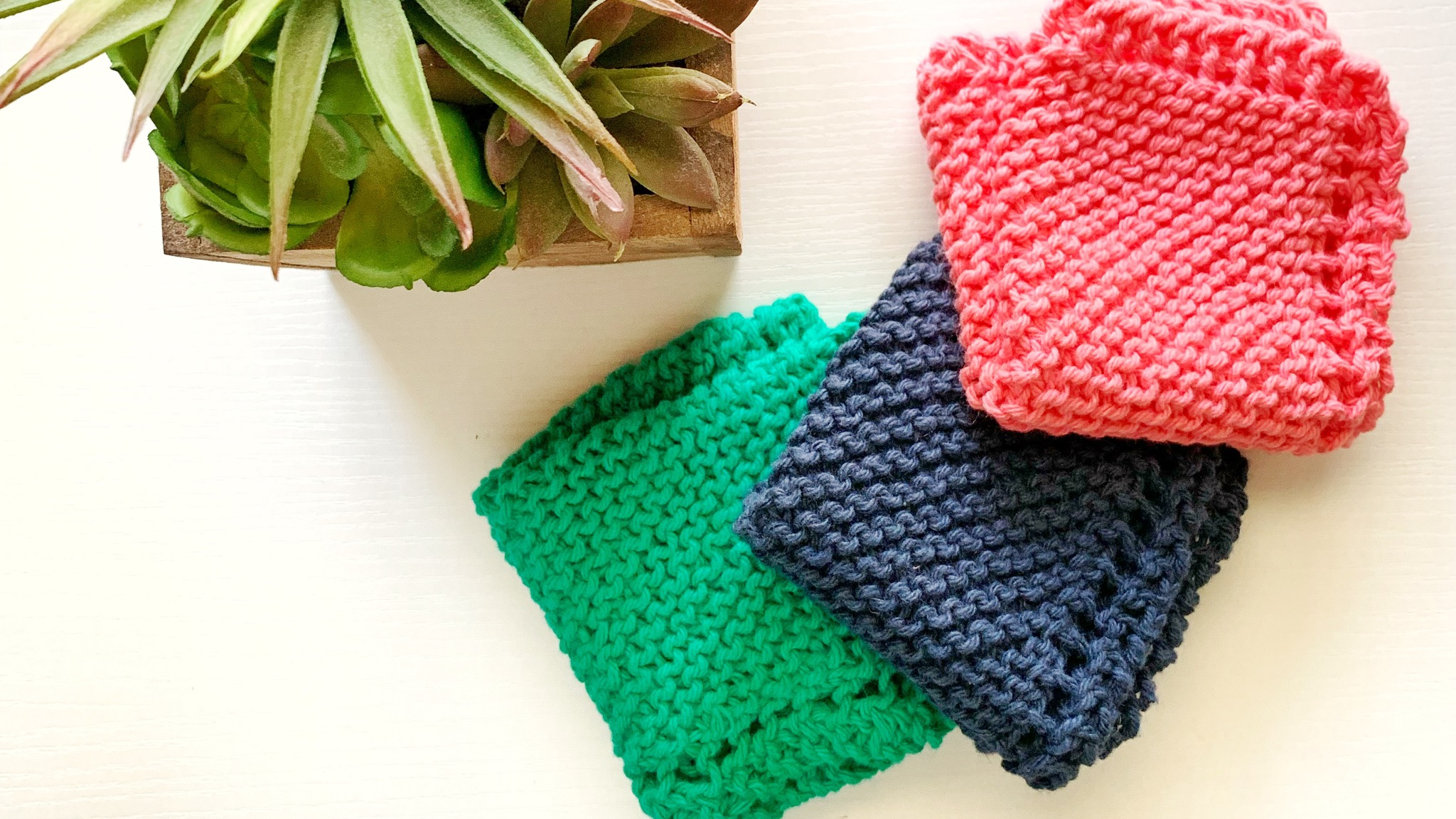 The Three Best Yarns For Knitting and Crocheting Dishcloths