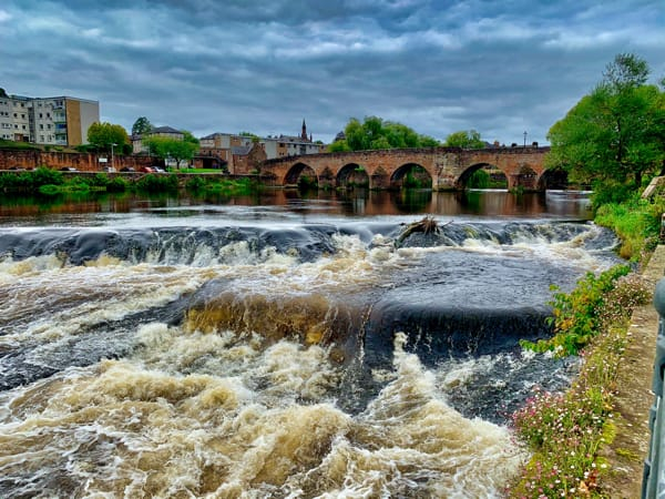 River Nith Rapids