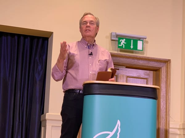Andrew Wommack at the GTS in Dumfries Scotland
