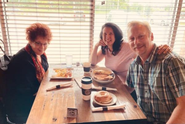 Mary Kenyon with Chris & Lisa