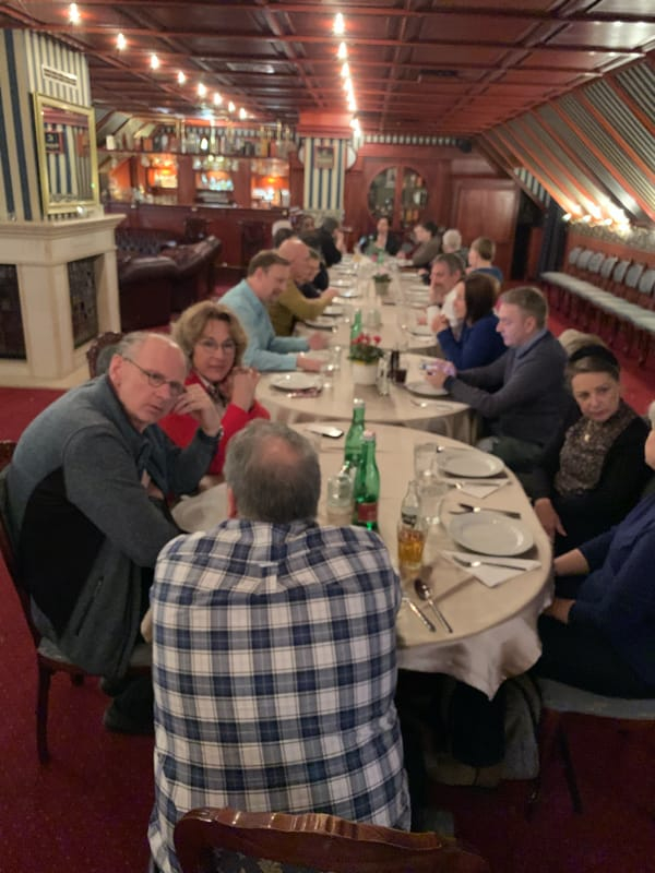 Dinner with the European Directors in Hungary