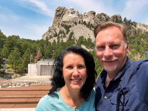 Crees at Mt Rushmore