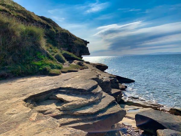 Scottish rocky coast