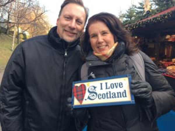 Chris & Lisa Cree - We love Scotland!