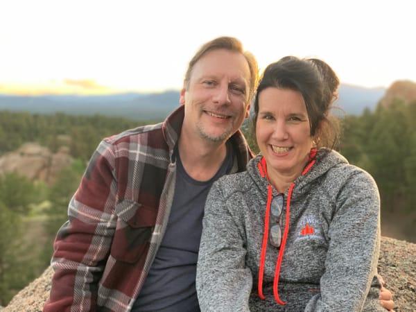 Chris & Lisa Cree at Dawn of Hope Ranch