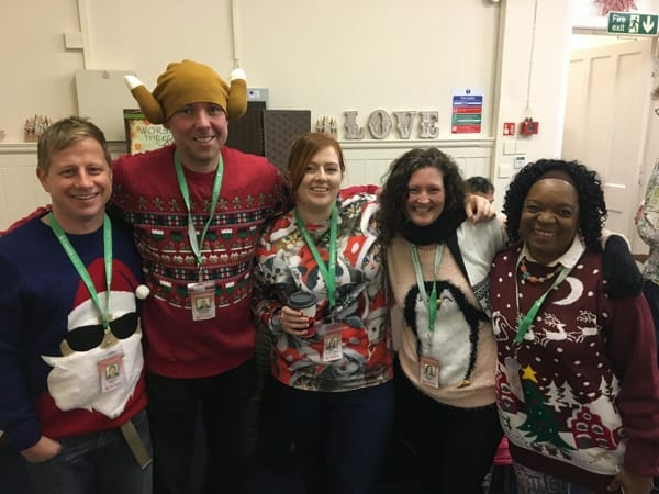 Charis Dumfries Christmas celebration