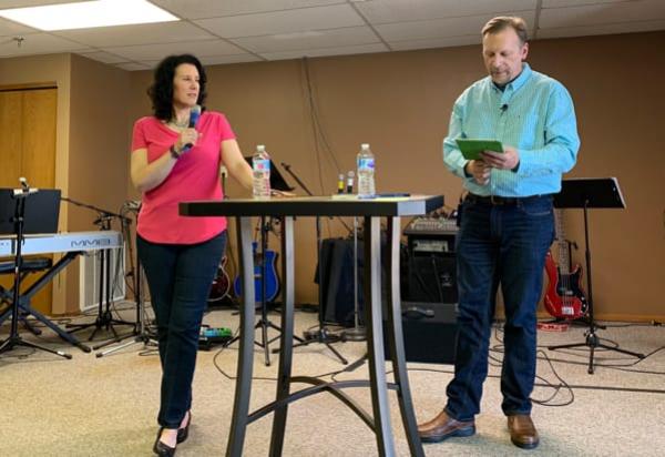 Chris & Lisa at Charis Family Church