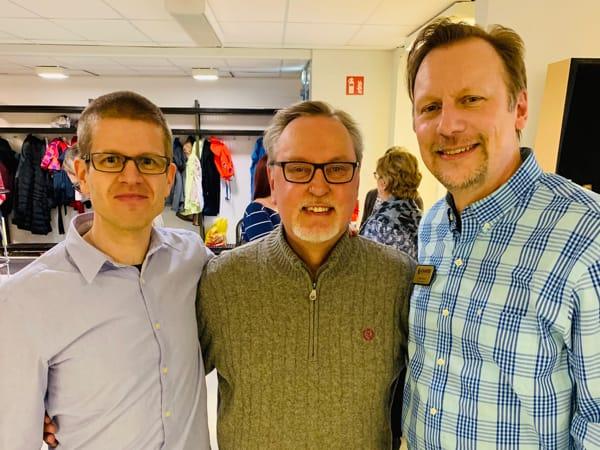 Vesa Seppälä, Antero Laukkanen, and Chris Cree