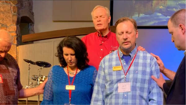 Chris & Lisa Cree ordained by Andrew Wommack