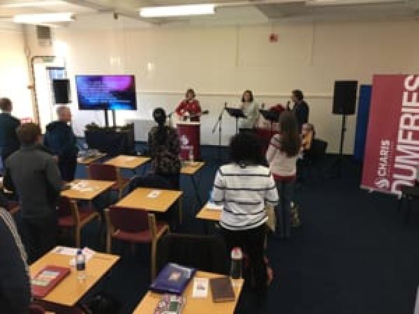 Charis Bible College worship team