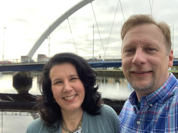Chris & Lisa Cree in Glasgow