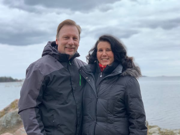 Chris & Lisa Cree in Helsinki