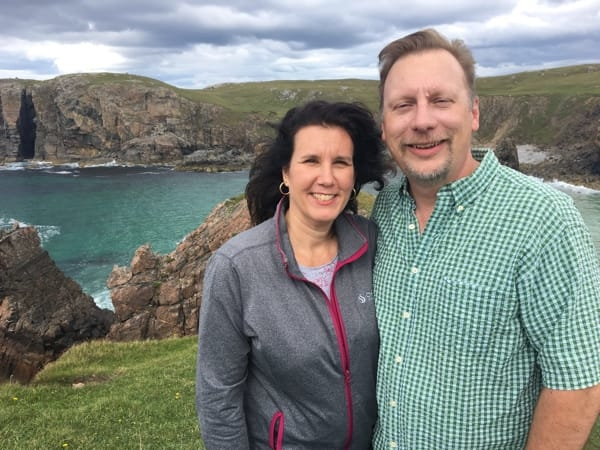 Chris & Lisa Cree on the Isle of Lewis