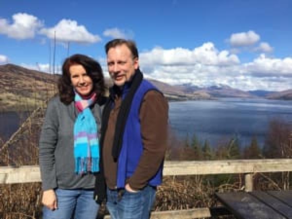 Chris & Lisa Cree at Locharron