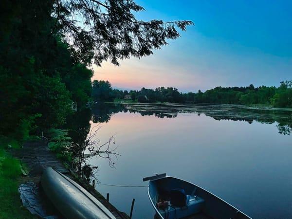 Calm Wisconsin lake