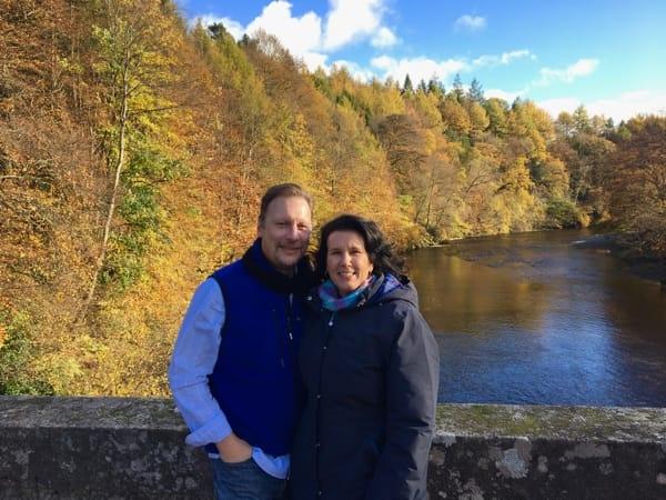 Chris & Lisa Cree autumn river