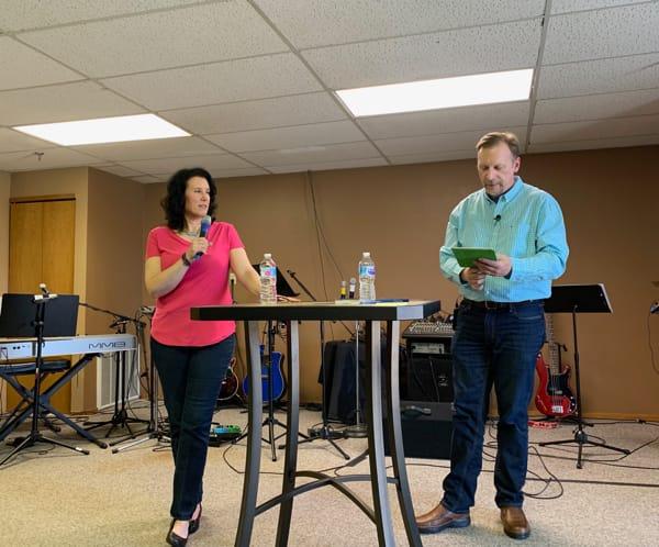 Speaking at Charis Family Church