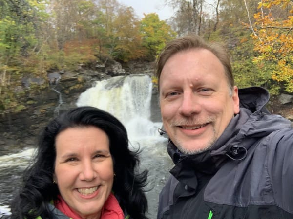 Chris & Lisa Cree in the Highlands