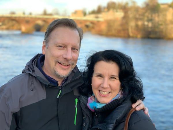 Chris & Lisa Cree in Perth