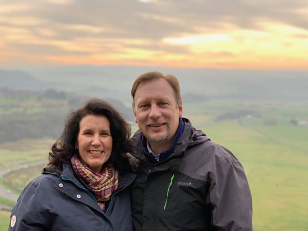 Chris & Lisa Cree at Stirling Castle